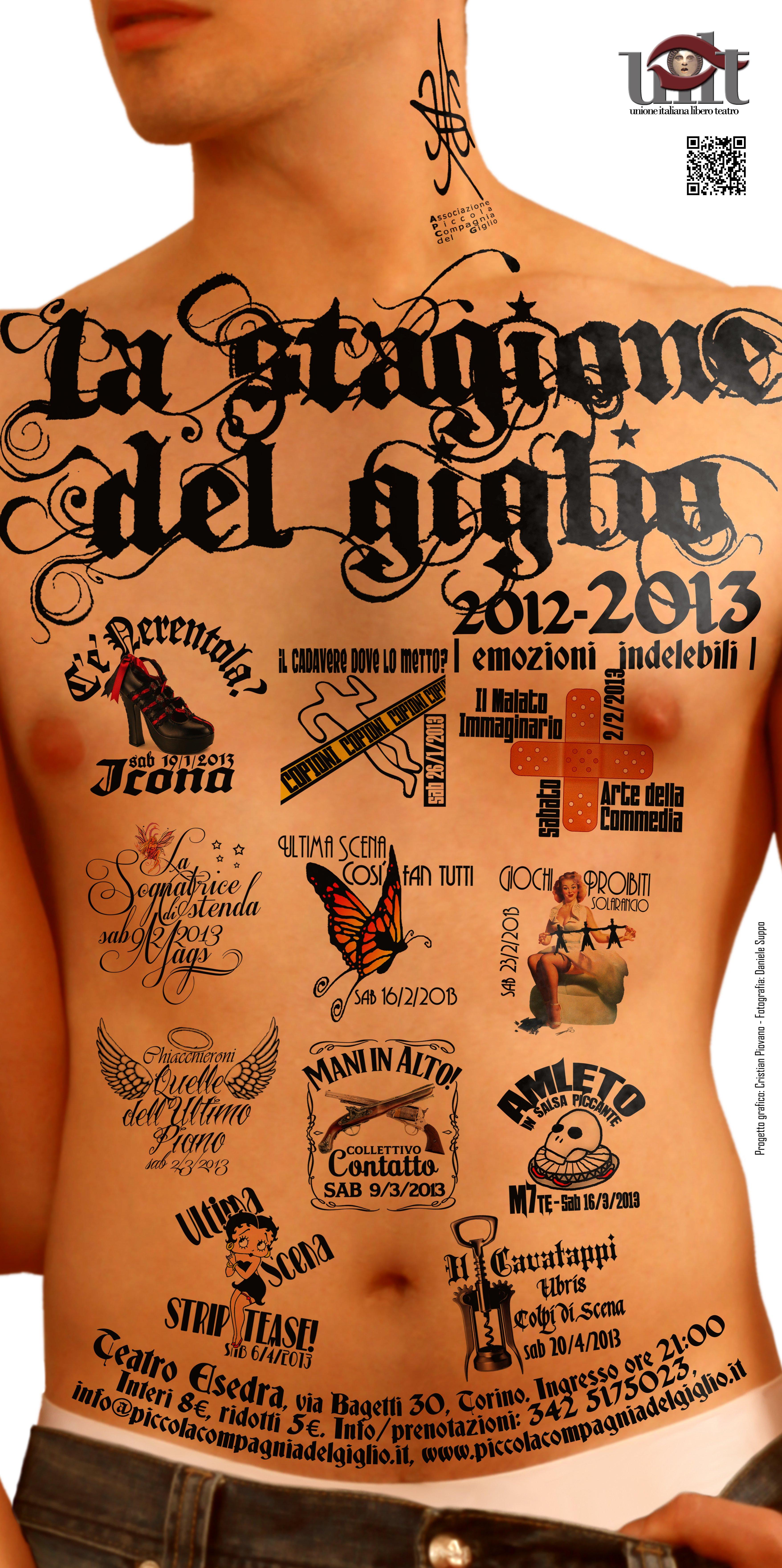 locandina Stagione del giglio 2012-2013